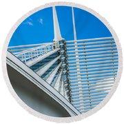 Calatrava Point Round Beach Towel