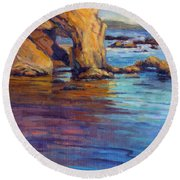 California Cruising 6 / El Matador Round Beach Towel