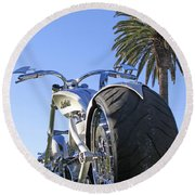 California Dreamin Round Beach Towel by Shoal Hollingsworth