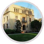 California Institute Of Technology - Caltech Round Beach Towel