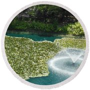 Calistoga Summer Round Beach Towel