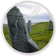 Callanish 3 Round Beach Towel
