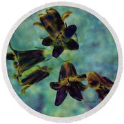 Round Beach Towel featuring the photograph Can You Hear The Bells Ringing by Patricia Griffin Brett