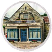 Candleford Post Office Round Beach Towel