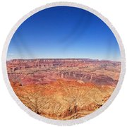 Canyon View Round Beach Towel
