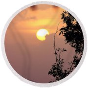 Round Beach Towel featuring the photograph Caribbean Summer Solstice  by The Art of Alice Terrill