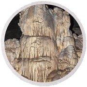 Carlsbad Caverns National Park Round Beach Towel