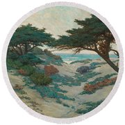 Carmel Coast Round Beach Towel