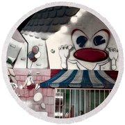 Carnival Fun House Round Beach Towel