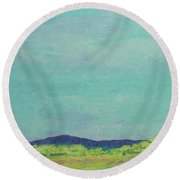 Carolina Spring Day Round Beach Towel