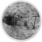 Cart Art No. 17 Round Beach Towel