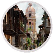 Cartagena Round Beach Towel