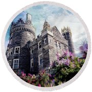 Casa Loma Series 08 Round Beach Towel