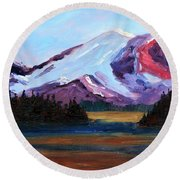 Cascade Light Round Beach Towel