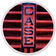 Case Round Beach Towel