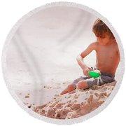 Castlemaker Round Beach Towel