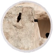Castolon Adobe Ghost Round Beach Towel