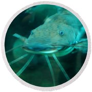Catfish Billy Round Beach Towel