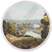 Caversham Bridge, Near Reading Round Beach Towel