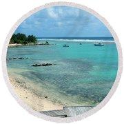 Cayman Beach Round Beach Towel