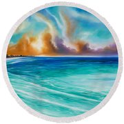 Cazumel Round Beach Towel