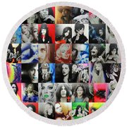 Mosaic - Ccart Mosaic - Series II Round Beach Towel by Christian Chapman Art