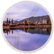 Cecret Reflection Round Beach Towel