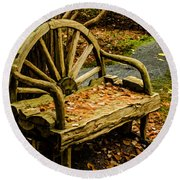 Changing Of The Seasons Round Beach Towel