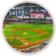 Chase Field 2013 Round Beach Towel