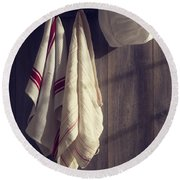 Chefs Hat Round Beach Towel