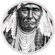Chief-joseph Round Beach Towel
