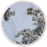 Chill Tree Round Beach Towel