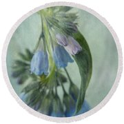 Chiming Bells Part I Round Beach Towel