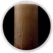 Chocolate Milk Round Beach Towel