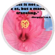 Choose Your Quote Choose Your Picture 1 Round Beach Towel