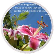 Choose Your Quote Choose Your Picture 17 Round Beach Towel