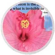 Choose Your Quote Choose Your Picture 2 Round Beach Towel