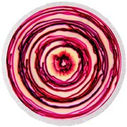 Chromatism Round Beach Towel