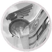 Chrysler Building 4 Round Beach Towel