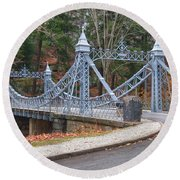 Cinderella Bridge Round Beach Towel