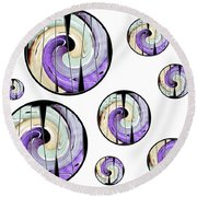 Circleof Life 2 Round Beach Towel