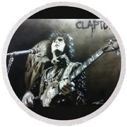 Clapton Round Beach Towel