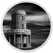 Clavell Tower Round Beach Towel