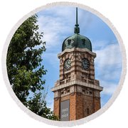 Cleveland West Side Market Tower Round Beach Towel
