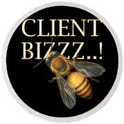 Client Buzzz Round Beach Towel