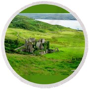 Clifden Castle Round Beach Towel