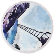 Climb Round Beach Towel