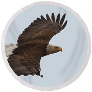 Close Encounter Of The Best Kind Round Beach Towel