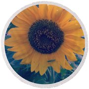 Co-existing Round Beach Towel