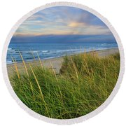 Coast Guard Beach Cape Cod Round Beach Towel